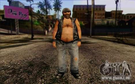 Biker from GTA Vice City Skin 2 pour GTA San Andreas