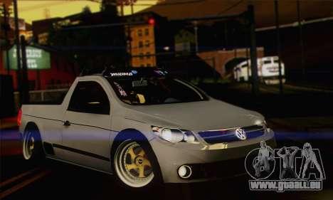 Volkswagen Saveiro Slammed für GTA San Andreas