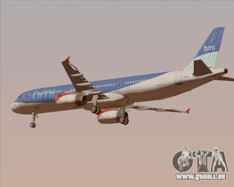 Airbus A321-200 British Midland International für GTA San Andreas Motor