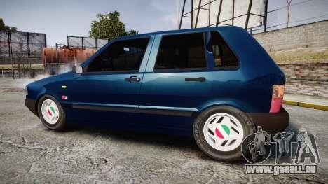 Fiat Uno pour GTA 4 est une gauche