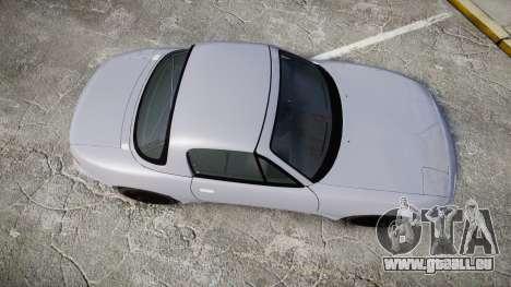 Mazda MX-5 Miata NA [Updated] pour GTA 4 est un droit