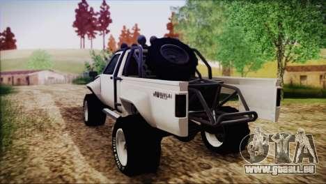 Karin Rebel 4x4 pour GTA San Andreas laissé vue