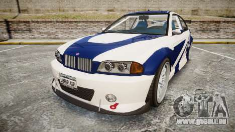 Ubermacht Sentinel GTR Most Wanted style pour GTA 4