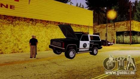 La renaissance de tous les postes de police pour GTA San Andreas sixième écran