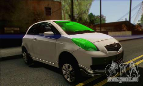 Toyota Yaris Shark Edition pour GTA San Andreas