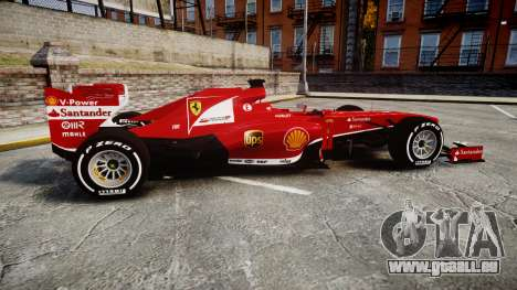 Ferrari F138 v2.0 [RIV] Alonso TMD pour GTA 4 est une gauche
