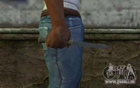 Couteau de Combat (DayZ Standalone) v1 pour GTA San Andreas troisième écran