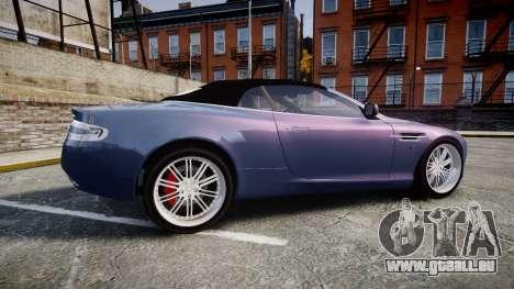 Aston Martin DB9 Volante 2005 VK Edition pour GTA 4 est une gauche