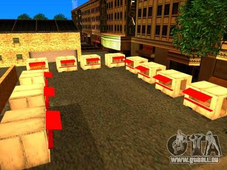 Relax City pour GTA San Andreas troisième écran