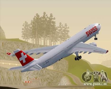 Airbus A330-300X Swiss International Air Lines für GTA San Andreas