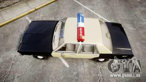 Ford LTD Crown Victoria 1987 LAPD [ELS] für GTA 4 rechte Ansicht