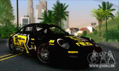 Porsche 997 Turbo Tunable pour GTA San Andreas salon
