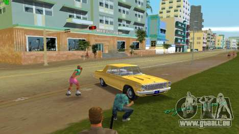 Dodge 330 Max Wedge Ramcharger 1963 für GTA Vice City