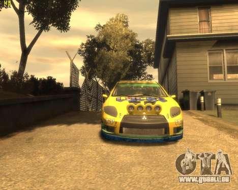 Mitsubishi Eclipse GT Rallycross für GTA 4 linke Ansicht