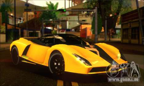Grotti Cheetah (HQLM) pour GTA San Andreas