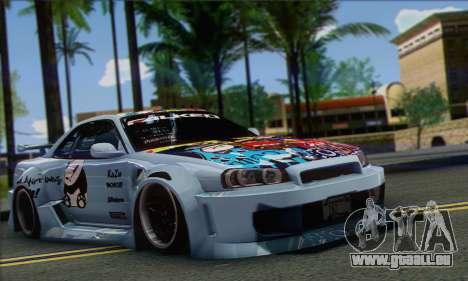 Nissan Skyline R-34 SDK Style pour GTA San Andreas