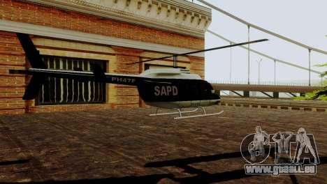 Véhicules neufs en SFPD pour GTA San Andreas quatrième écran