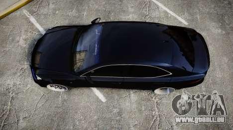 Lexus IS 350 F-Sport pour GTA 4 est un droit