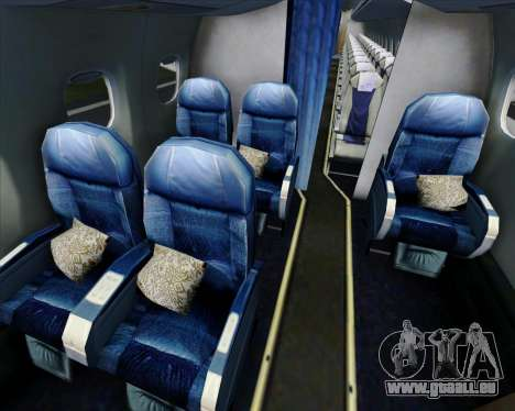 Embraer E-190 Virgin Blue pour GTA San Andreas moteur