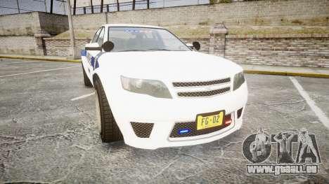 GTA V Cheval Fugitive LS Liberty Police [ELS] Sl pour GTA 4