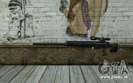 HK PSG1 from Beta Version für GTA San Andreas