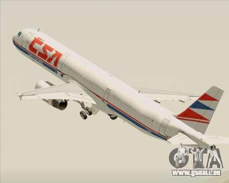 Airbus A321-200 CSA Czech Airlines für GTA San Andreas