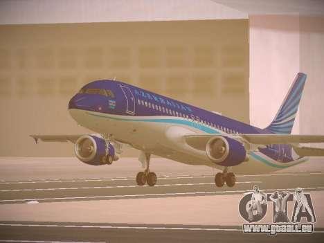 Airbus A320-214 Azerbaijan Airlines AZAL pour GTA San Andreas