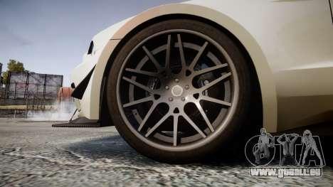 Ford Mustang GT 2014 Custom Kit PJ3 pour GTA 4 Vue arrière