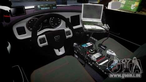 Dodge Charger RT 2013 LC Sheriff [ELS] pour GTA 4 Vue arrière
