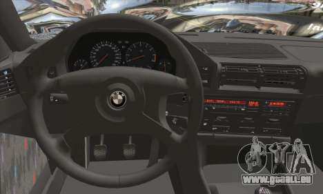 BMW M5 E34 V10 für GTA San Andreas zurück linke Ansicht