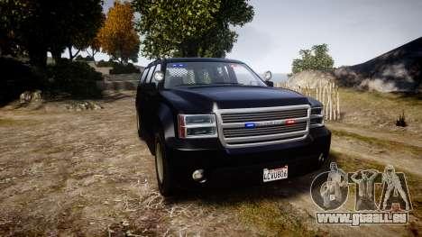 GTA V Declasse Granger Unmarked [ELS] Slicktop für GTA 4