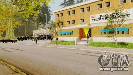 La renaissance de tous les postes de police pour GTA San Andreas cinquième écran