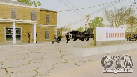 Die Wiederbelebung von allen Polizeistationen für GTA San Andreas elften Screenshot