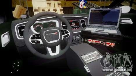 Dodge Charger 2015 LPD CHGR [ELS] für GTA 4 Rückansicht