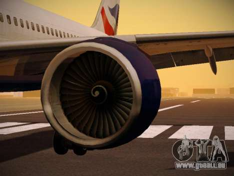 Boeing 757-236 British Airways für GTA San Andreas Motor