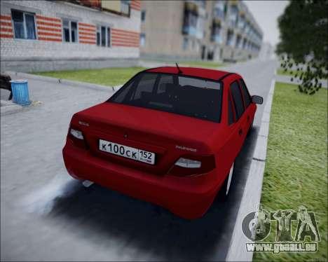 Daewoo Nexia für GTA San Andreas zurück linke Ansicht