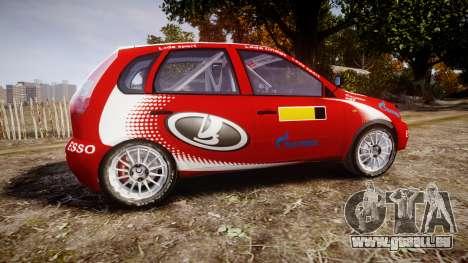 VAZ-Kalina 1119 RallyCross pour GTA 4 est une gauche