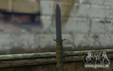 Couteau de Combat (DayZ Standalone) v1 pour GTA San Andreas deuxième écran