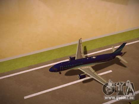 Airbus A320-214 Azerbaijan Airlines AZAL pour GTA San Andreas moteur