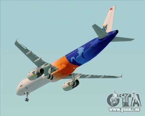 Airbus A321-200 Myanmar Airways International für GTA San Andreas Seitenansicht