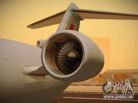 Bombardier CRJ-700 Air Canada Express pour GTA San Andreas vue de dessus