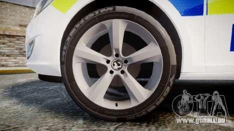 Vauxhall Astra Estate Metropolitan Police [ELS] für GTA 4 Rückansicht