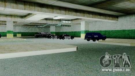 Véhicules neufs en SFPD pour GTA San Andreas deuxième écran