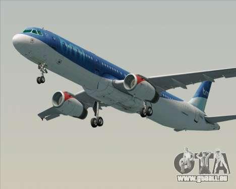 Airbus A321-200 British Midland International pour GTA San Andreas vue de côté