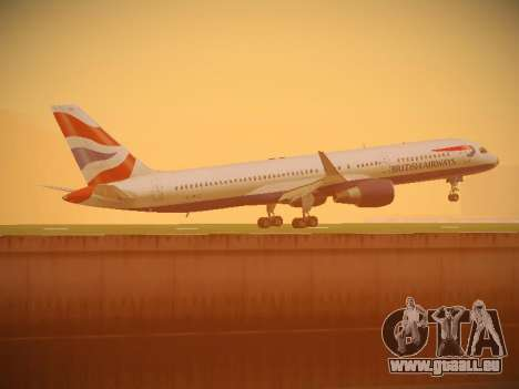 Boeing 757-236 British Airways pour GTA San Andreas