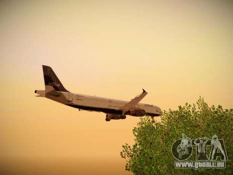 Airbus A321-232 jetBlue Woo-Hoo jetBlue pour GTA San Andreas vue de dessous