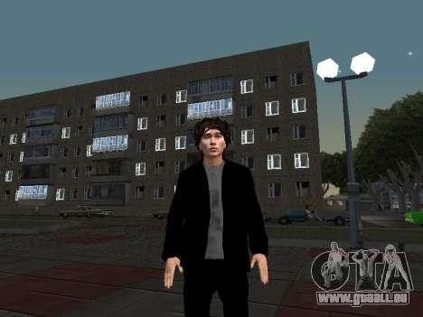 Viktor Tsoi pour GTA San Andreas troisième écran