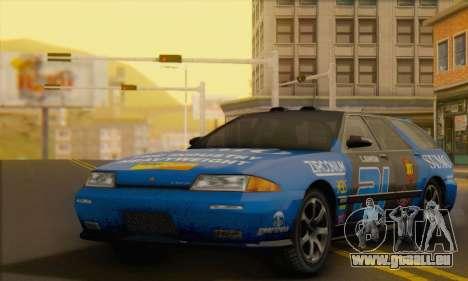 GTA 5 Stratum pour GTA San Andreas vue de dessous