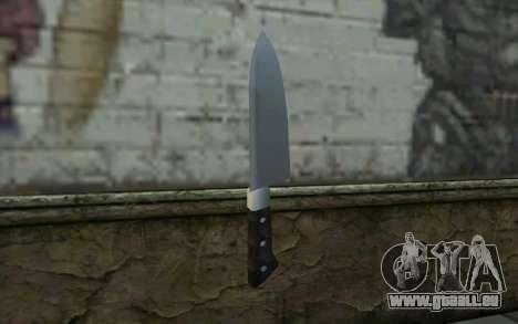 Kitchen Knife from Hitman 2 pour GTA San Andreas deuxième écran