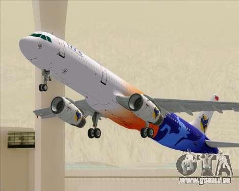 Airbus A321-200 Myanmar Airways International für GTA San Andreas